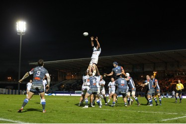 RACING 92 VS CLERMONT