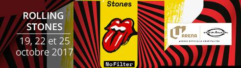 CONCERTS D'INAUGURATION U ARENA - ROLLING STONES